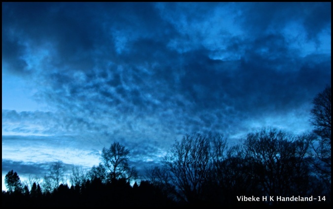 Fussy sky